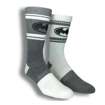 Batman Flipped Colors 1 Pairs Of Crew Socks