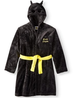 Batman boys' hooded fleece pajama robe (little boys & big boys)