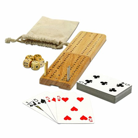 WE Games Cribbage and More Travel Game Pack (More Or Less Game)