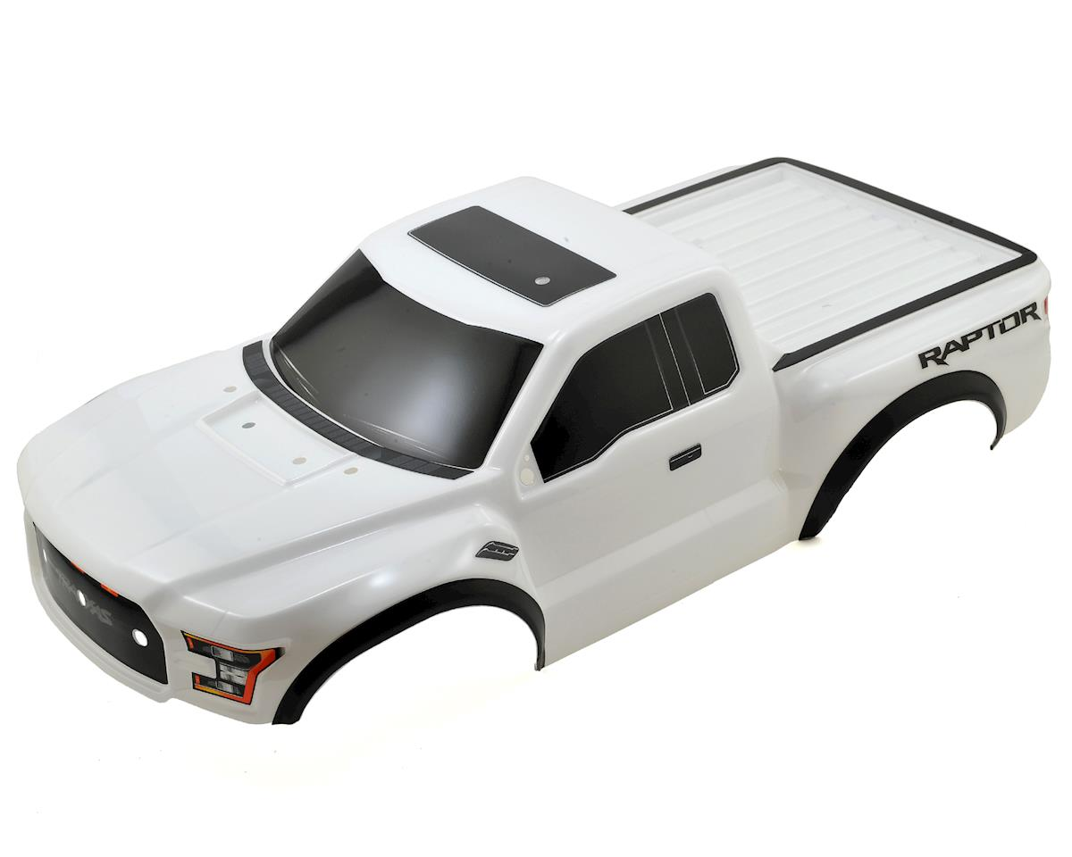 Traxxas 2017 Ford Raptor Pre-Painted Short Course Body (White) by