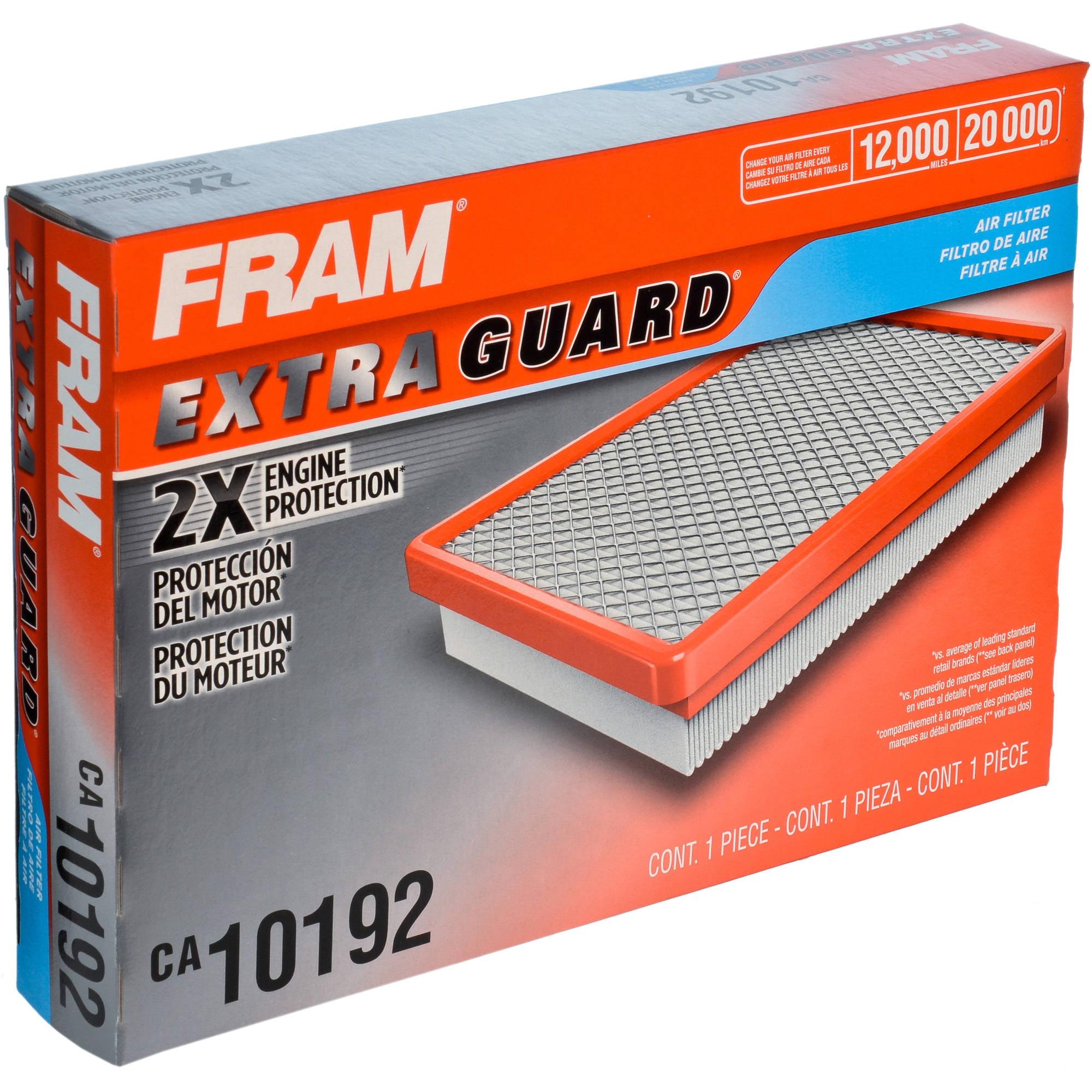 FRAM Extra Guard Air Filter, CA10192 by FRAM