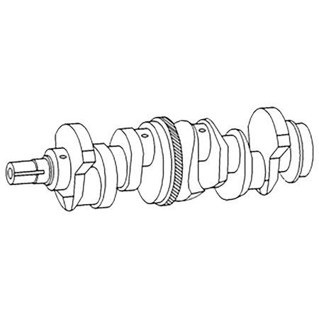 C5NE6303K New Crankshaft For Ford New Holland Tractor 5000
