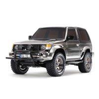 Tamiya America, Inc 1/10 Pajero Metaltop Wide 4WD CC-01 Limited Edition Kit, Black Metallic, TAM47375