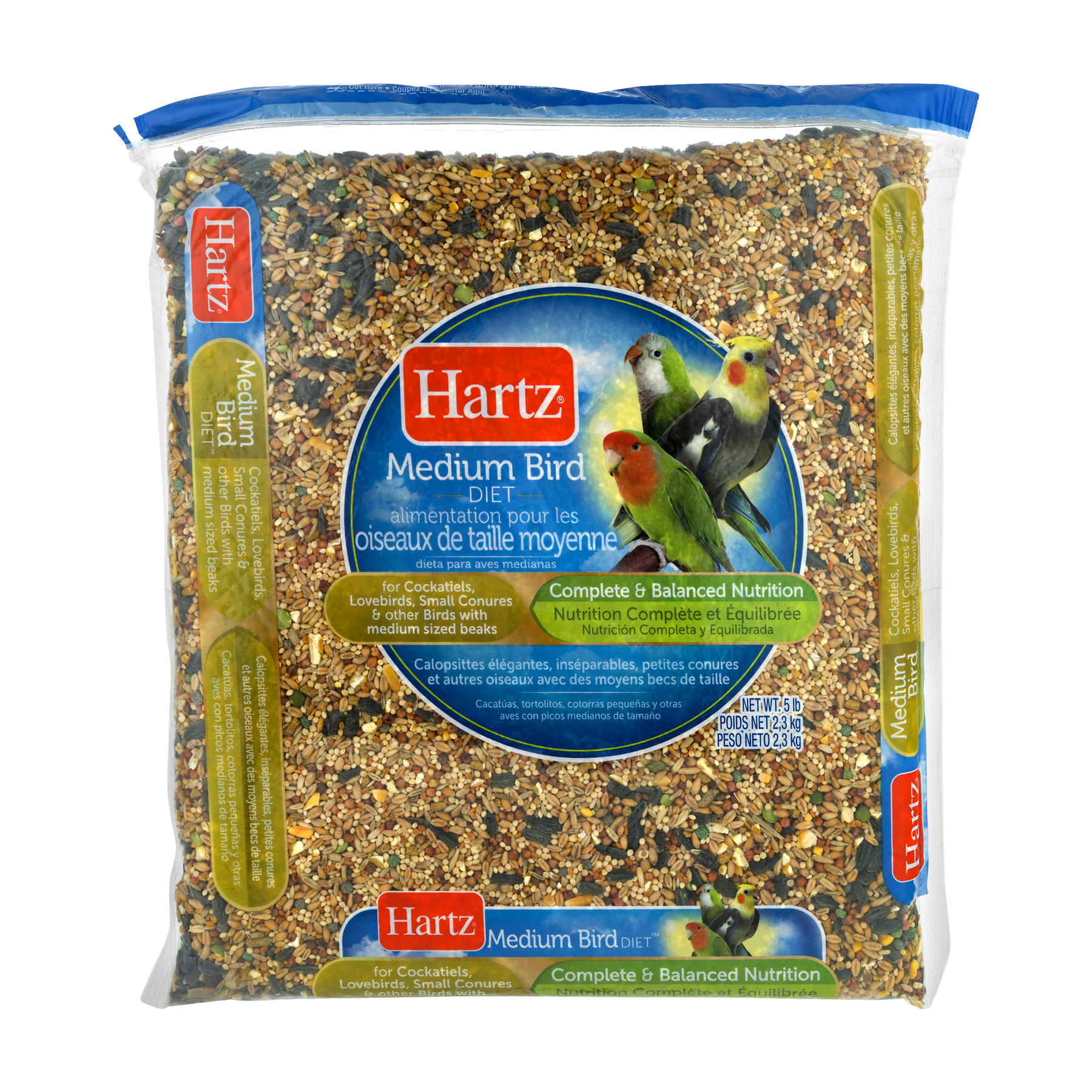 Hartz Medium Bird Food, 5.0 LB by The Hartz Mountain Corporation