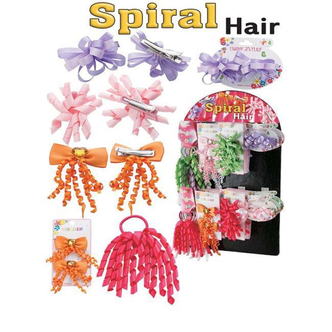 Puka 10665 15 x 6 x 20 Spiral Hair Fashion