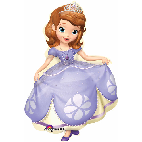 Sofia the First Shaped Balloon, 35""