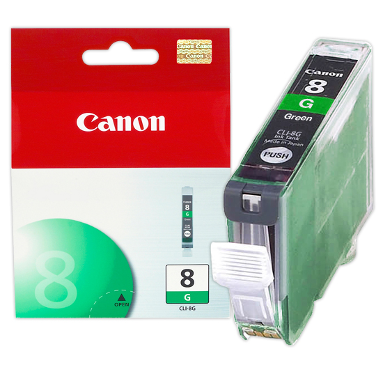 Canon CLI8G Green OEM Inkjet Cartridge