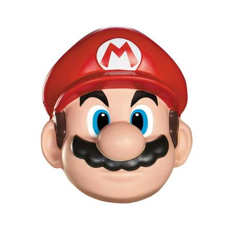 Super Mario Brothers - Mario Mask - Size One-Size - Mario Chiodo Masks