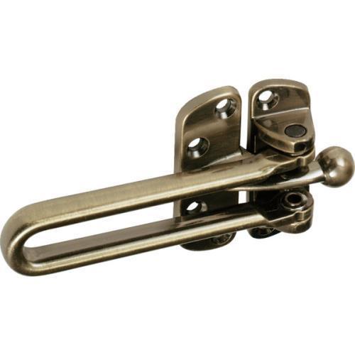 """2"""" Cast Zinc Door Slide Security Lock Antique Brass, Package Of 25"""