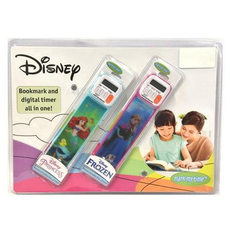 Disney Digital Mix Stick - Disney Frozen and Disney Princess 2PK Bookmark and Digital Timer All in One