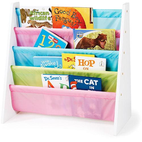 Tot Tutors Pastel Book Rack by Humble Crew Inc