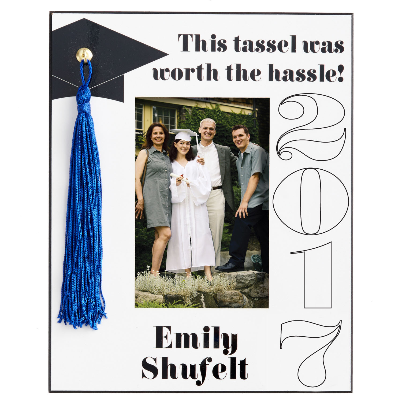 "Personalized Tassel Graduation 8""x10"" Frame"