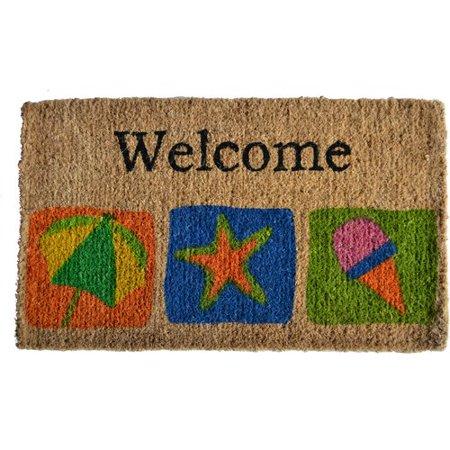 Imports Decor Creel Welcome Beach Doormat