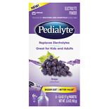 Pedialyte Powder Packs Grape 0.6 oz. x 6 pack (pack of 6)