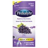 Pedialyte Powder Packs Grape 0.6 oz. x 6 pack (pack of 4)