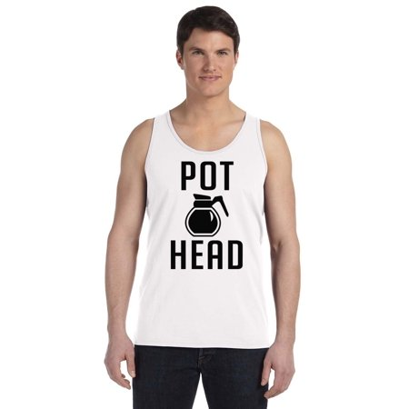 P Coffee Pot Head Men's Tank Top