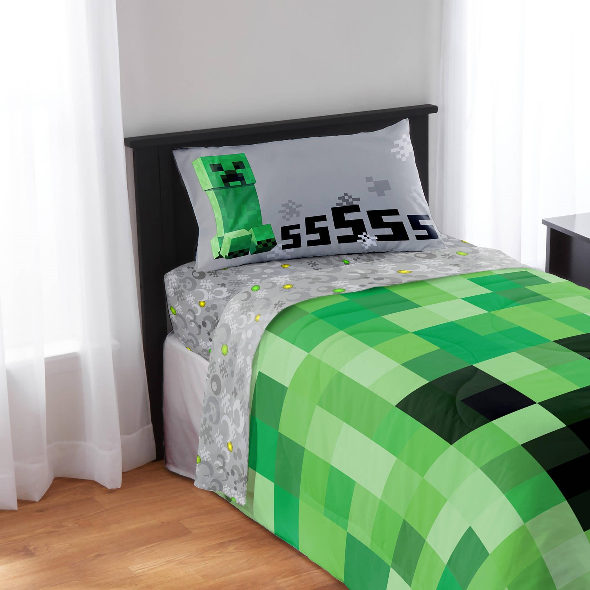 Minecraft Bedding Sheet Set