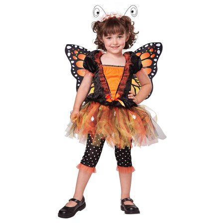 Toddler Monarch Butterfly Halloween Costume - Walmart.com