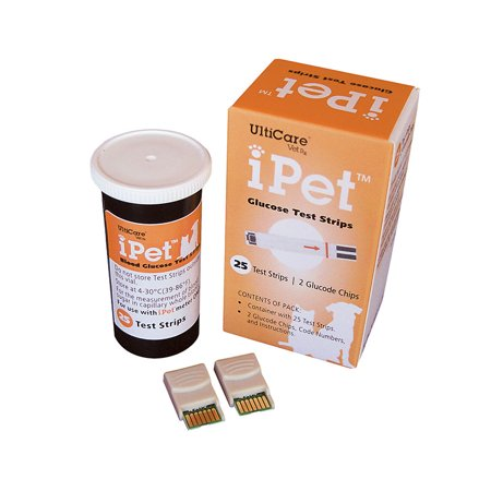Image of iPet Glucose Test Strips 25 count