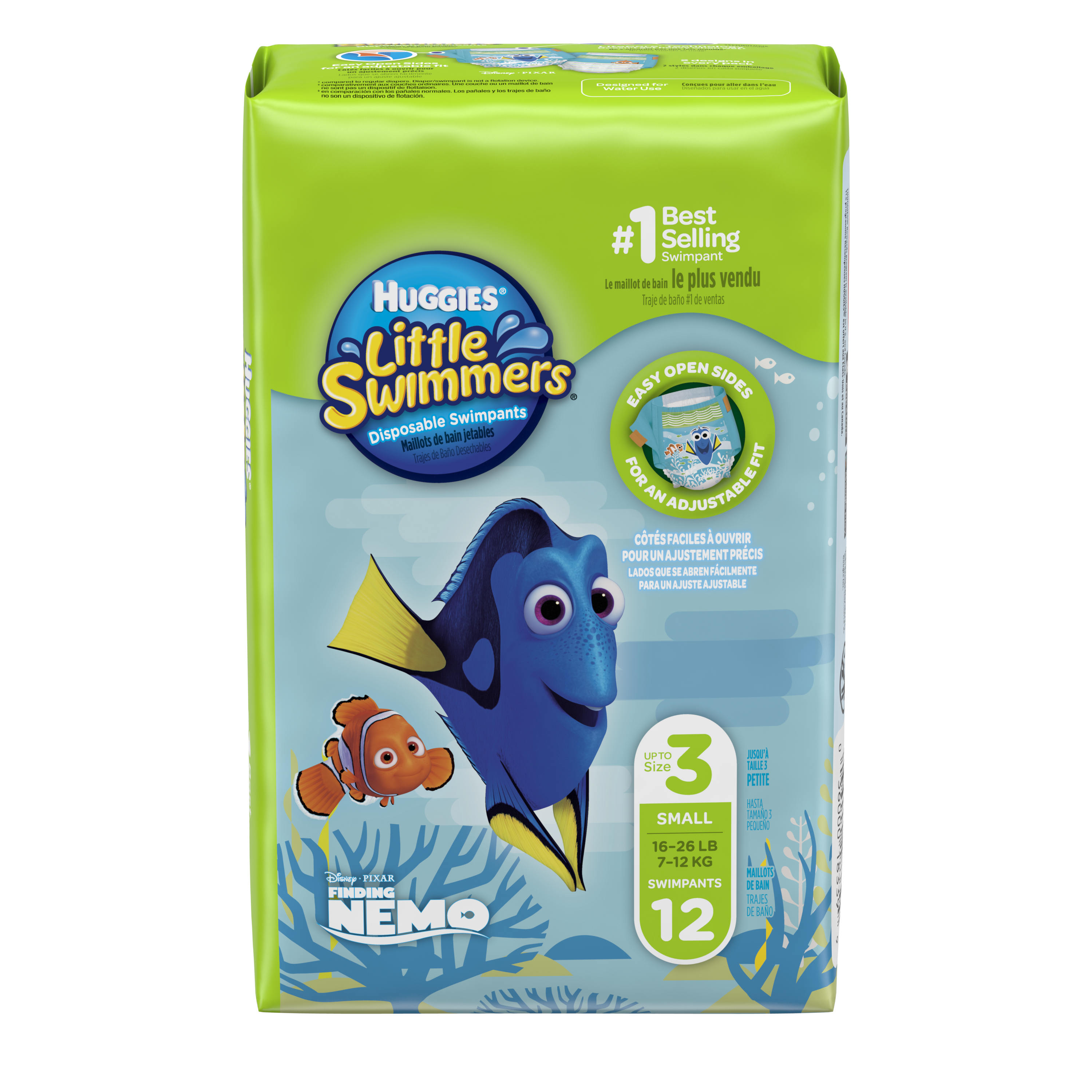 Huggies Little Swimmers Disposable Swim Diapers, Swim Pants, (Choose Size and Count)