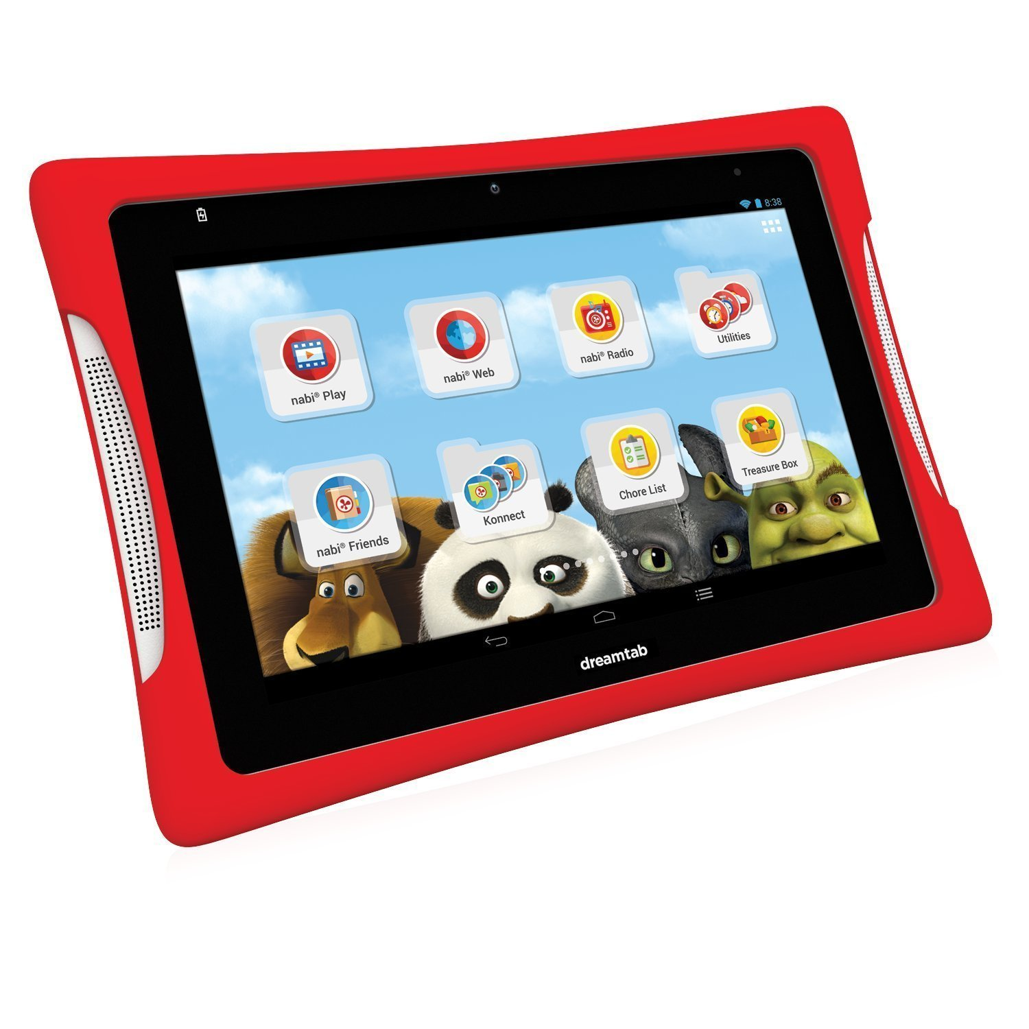 "Refurbished nabi DreamTab HD8 16GB 8"" Children's Tablet with WiFi"