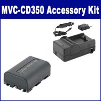 Sony MVC-CD350 Digital Camera Accessory Kit includes: SDNPFM50 Battery, SDM-101 Charger