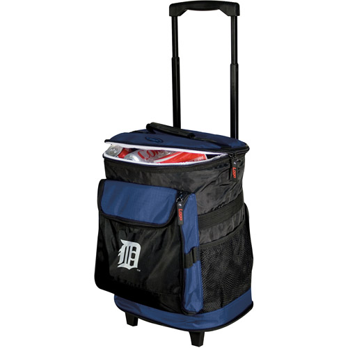 "Logo Chair MLB  Detroit Tigers 15"" x 16"" Rolling Cooler"