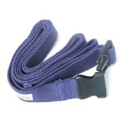 KushOasis OM133006-NavyBlue OMSutra Yoga Strap Pinch -Quick R 6 ft.  - Color - NavyBlue