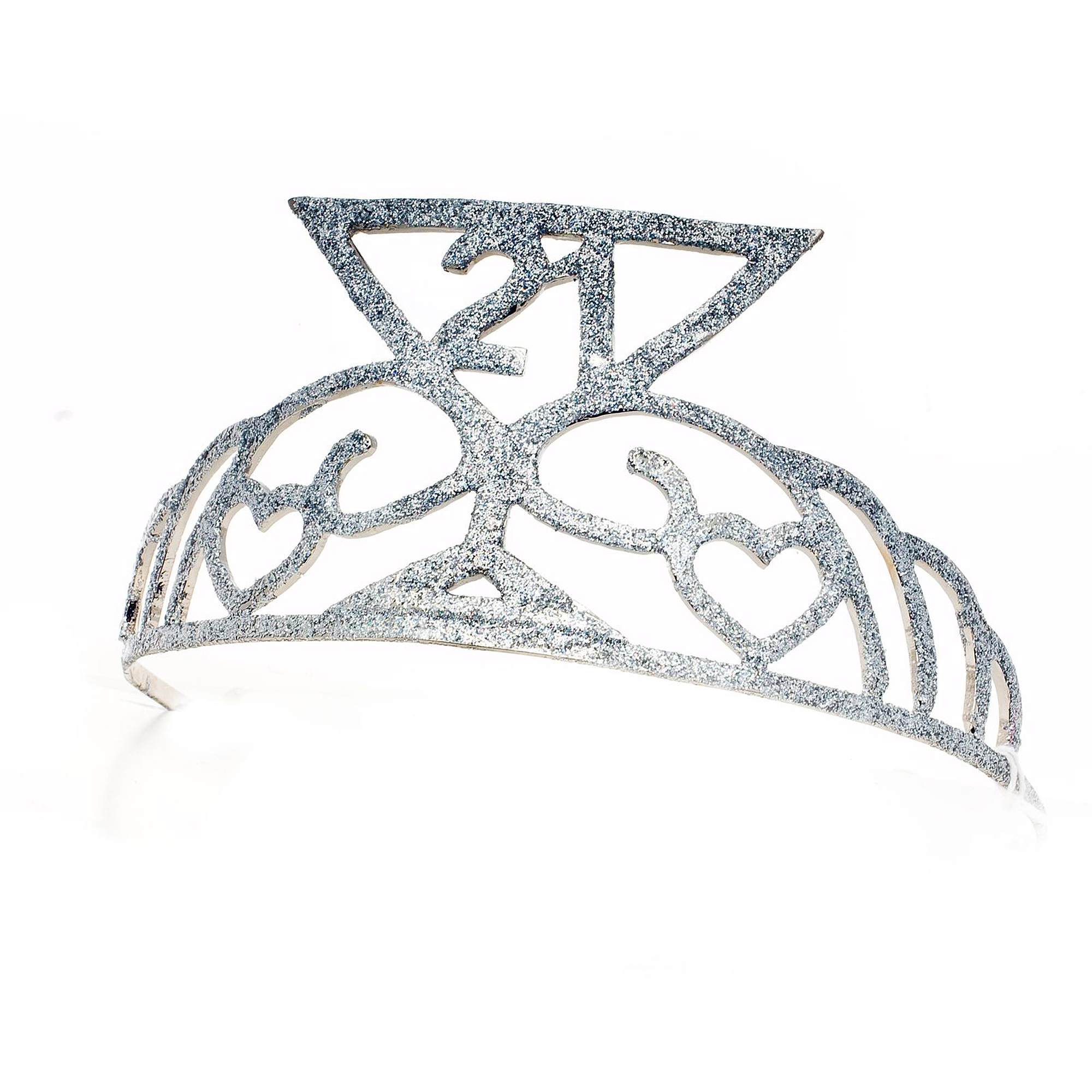 Sunnywood Cheers 21 Glitter Tiara Adult Costume Accessory