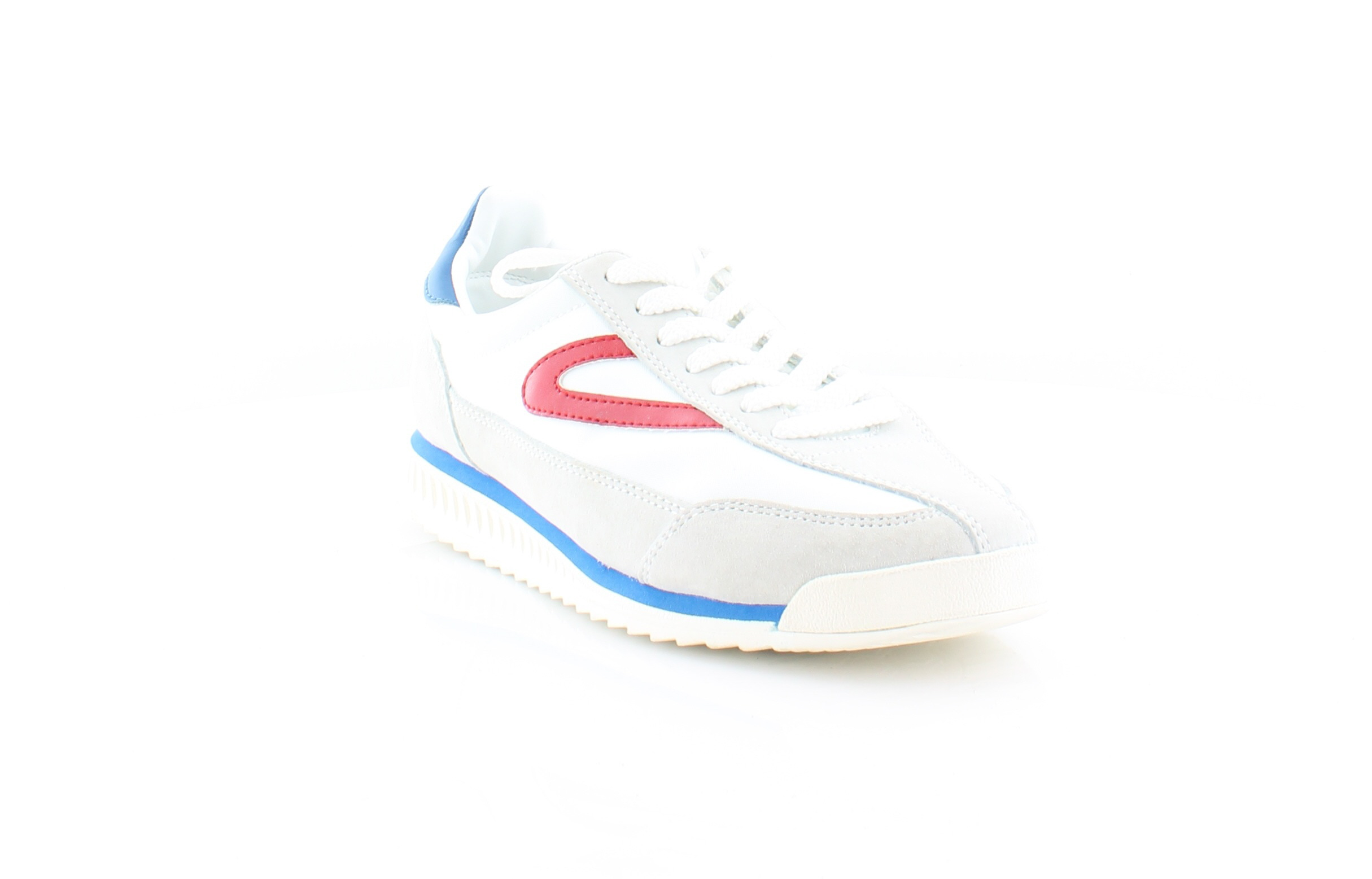 Tretorn Rawlins3 Women's Athletic Off White White Red Blue Size 5 M by