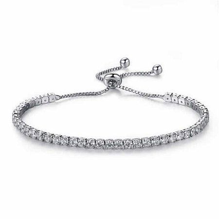 Woman Fashion Artificial Diamond Bracelet Hand Chain Stylish Decorations Romantic Gifts