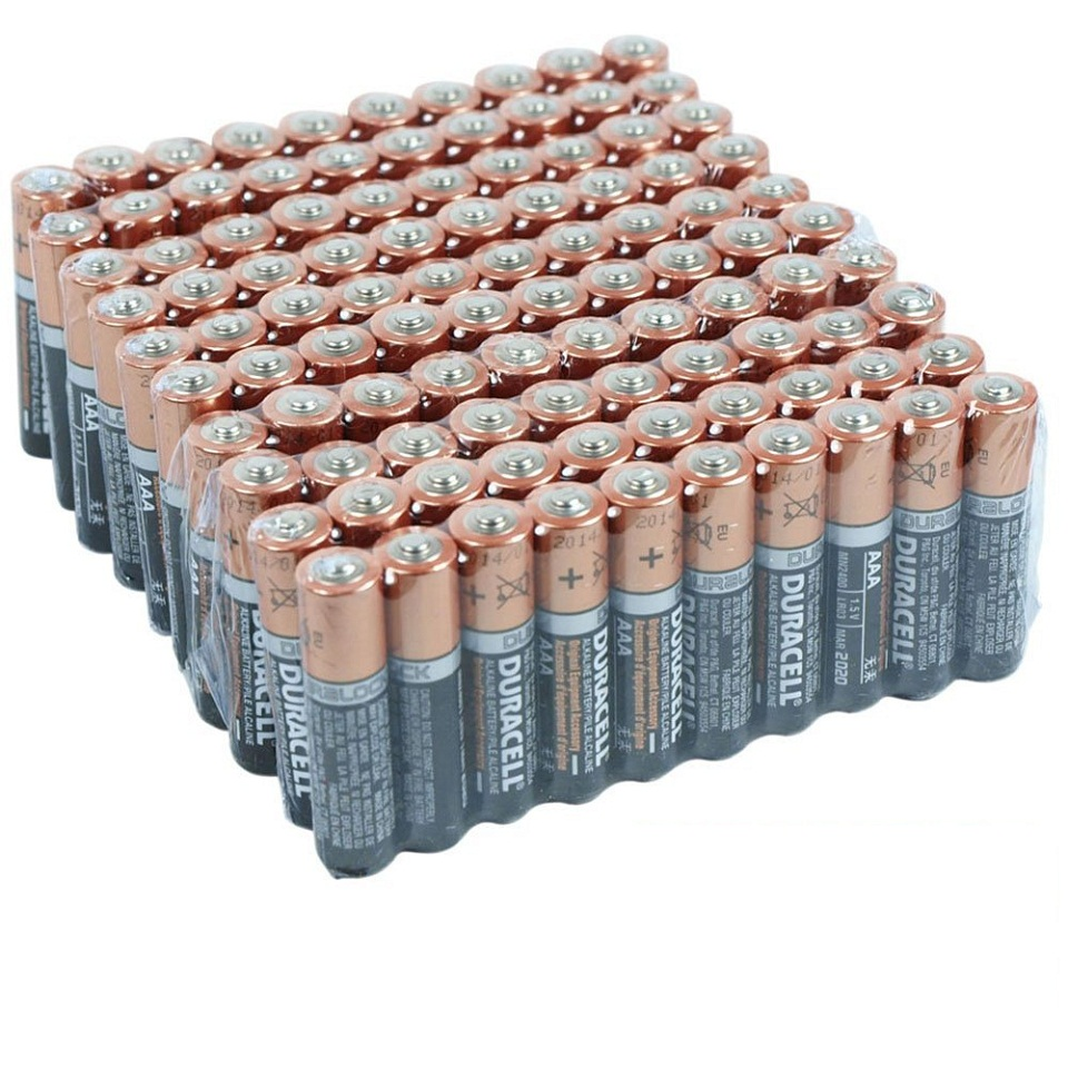 Duracell Coppertop Duralock AAA Batteries - 100 Pack