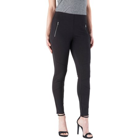 357a93be82681 Faded Glory - Faded Glory Women's Skinny Moto Leggings - Walmart.com