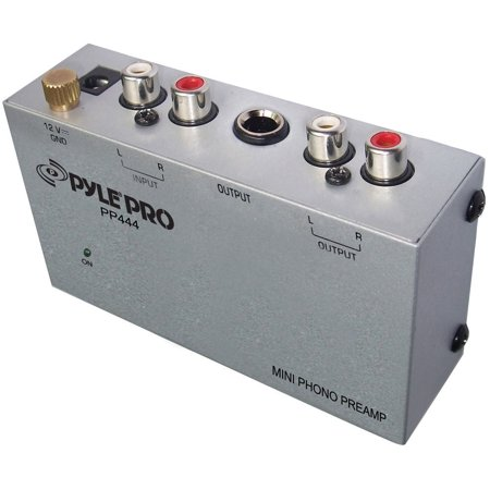 Pylepro Pp444 Ultra Compact Phono Preamp