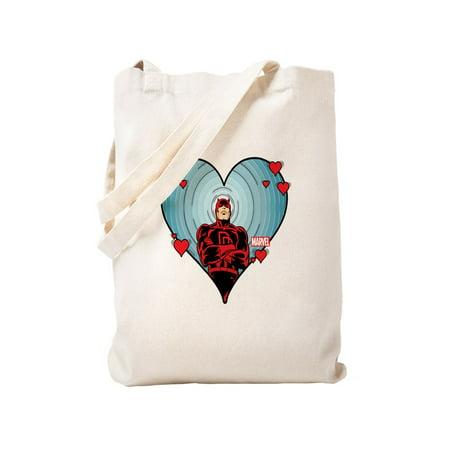 baa2ad630212 CafePress - Daredevil Valentines - Natural Canvas Tote Bag