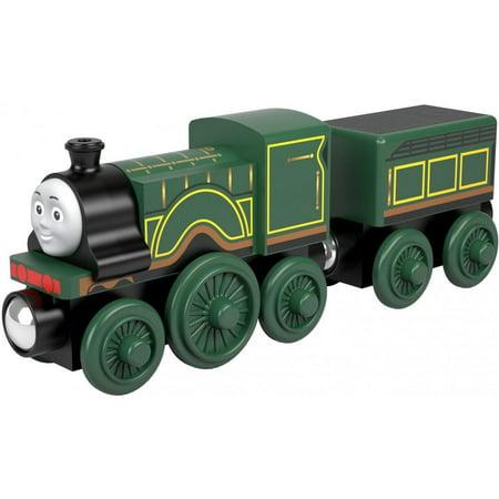 Thomas The Tank Engine Ride On Train (Thomas & Friends Wood Emily Green Wooden Tank Engine)