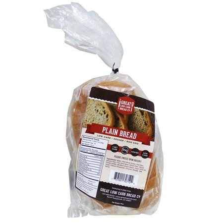 Low Carb Whole Grain Bread (Great Low Carb Bread Company - 1 Net Carb, 16 oz, Plain)