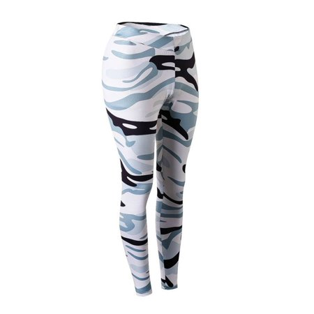 - Women Elastic Camouflage Sport Pants Printed Athletic Trousers