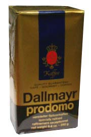 Dallmayr Prodomo Gourmet Coffee, 17.6oz (500g) by