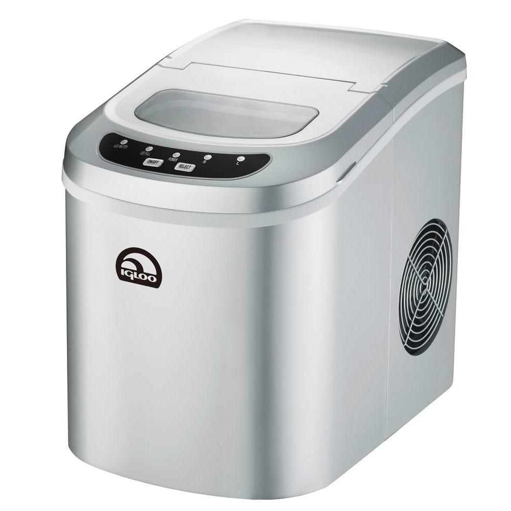 Igloo Portable Countertop Ice Maker ICE102 - Silver