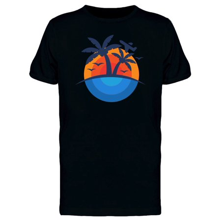 Palm Trees By The Sea Tee Men's -Image by