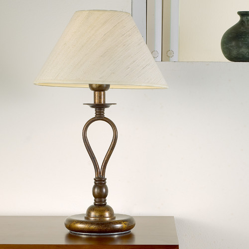 Lustrarte Lighting Modern Dali 18.11'' H Table Lamp with Empire Shade