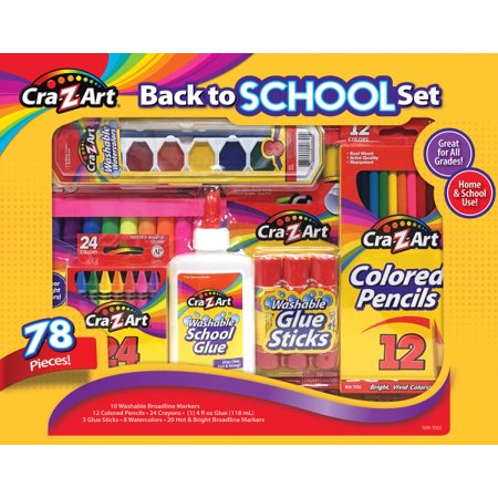 Cra-z-art Back To School Set