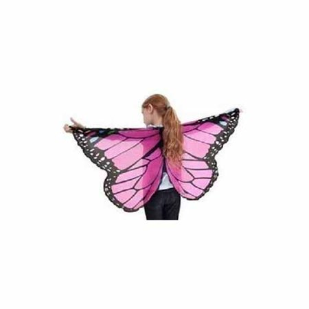 Glitter Mesh Wings (Pink Glitter Butterfly Wings by Douglas -)