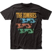 The Zombies Rock Band Music Group Shenanigans Adult Fitted Jersey T-Shirt Tee