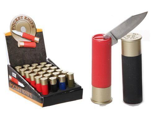 1 X Shotgun Shell Pocket Knife 2.5 Inches by