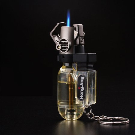 Compact Butane Lighter Torch,Mini Gas Spray Gun Torch Windproof Lighter