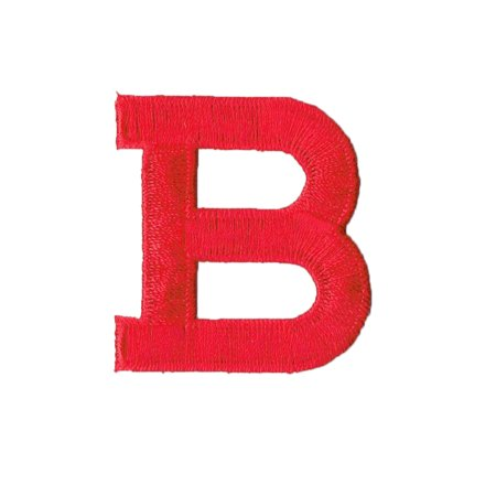 Alphabet Letter - B - Color Red - 2