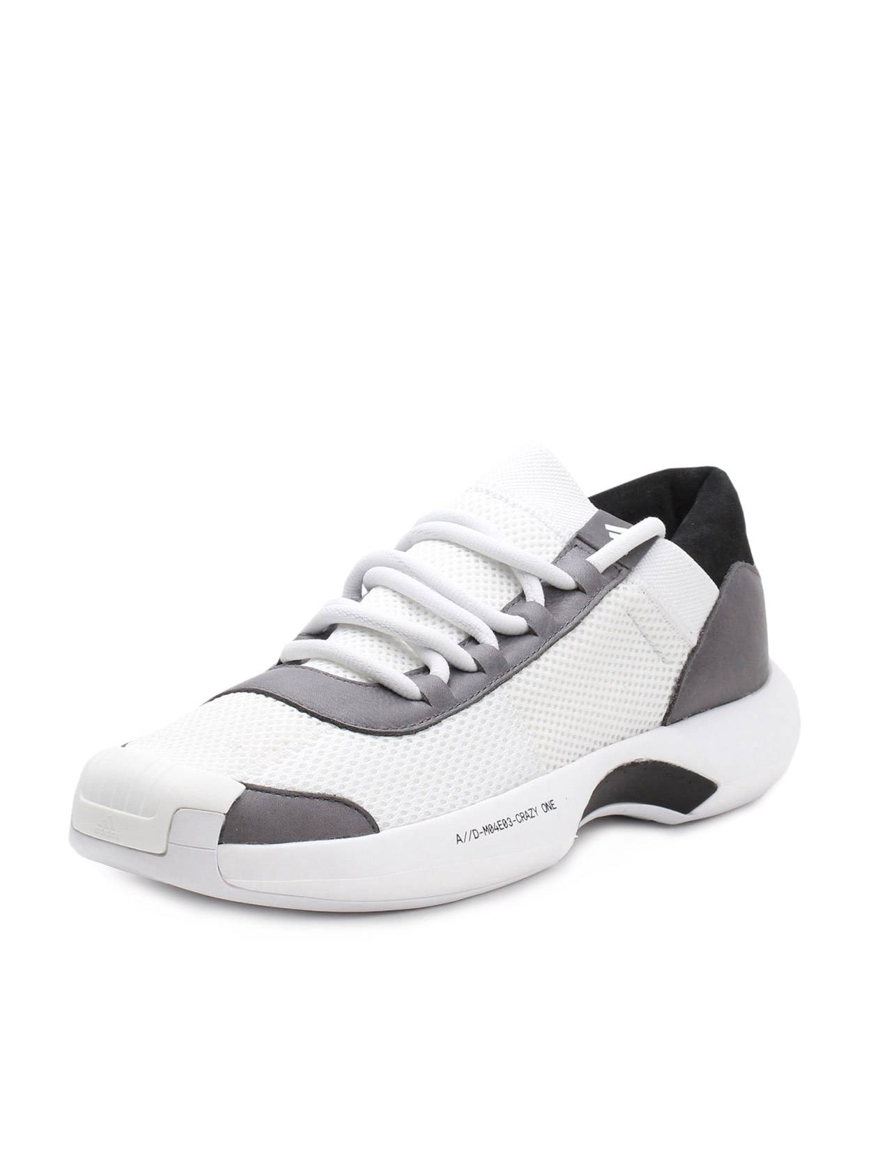 Adidas Mens Crazy 1 A D Consortium Grey White AC8213 by Adidas