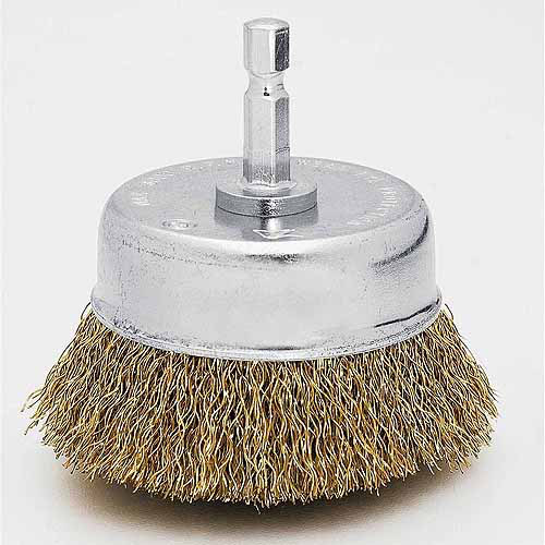 "Vermont American 16783 2-3 4"" Coarse Cup Wire Brush by Vermont American"